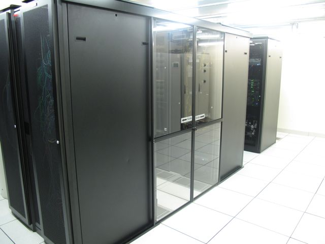 Fixed Data Center Cold Aisle Containment
